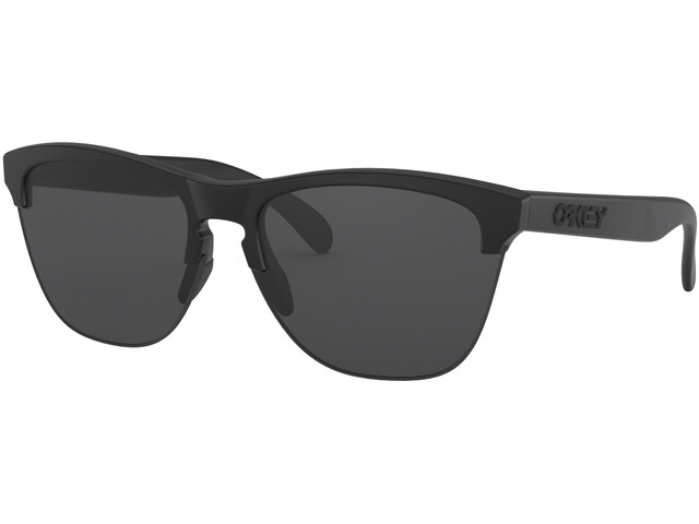 Oakley Frogskins Lite Sunglasses Matte Black/Grey